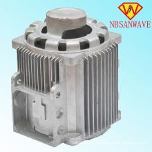 Fundição em alumínio para estrutura de eletromotor
