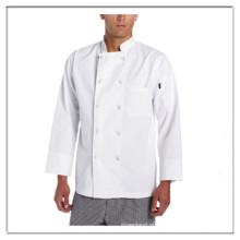 Revestimento de chef clássico para homem branco OEM