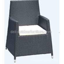 Outdoor High Back Modern PE Rattan Chair