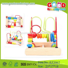 wooden cheap toys cheap beads colorful abacus beads