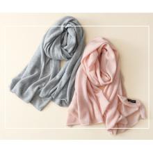 women's 100%cashmere scarf color all-match warm temperament dual-purpose shawl