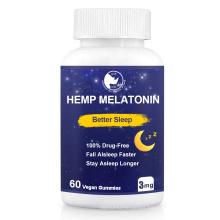 Sleep Well Lavender Melatonin Gummies For Improving Sleep Help Eye Health Depression