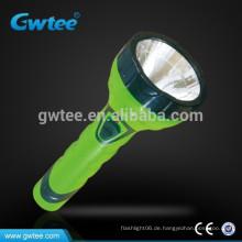 Gemacht in China Helligkeit hohe Kapazität wiederaufladbare LED Licht Taschenlampe