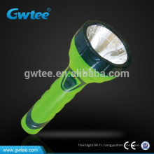 Made in China brightness haute capacité rechargeable led light flashlight