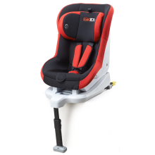 Baby car seats with orange-grey cover