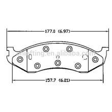 D477 0K553-33-23ZA pour Kia plaquette de frein à disque