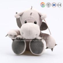 Forme la felpa linda juguetes juguetes dragón hecho en china