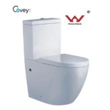 WC de la prensa de la mano con el estándar de Watermark / el tocador de una pieza con la certificación de Ce (CVT2062)