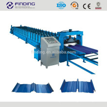 Corrugated sheet roll former galvanized aluminum metal wall milling colored steel cold roll forming machine for steel roof wall