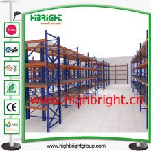 Support de rangement d'entrepôt robuste certifié avec étagère grillagée