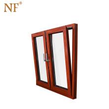aluminium clad wooden window design