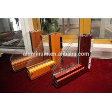China janela fabricante janelas de alumínio de dupla janela de alumínio