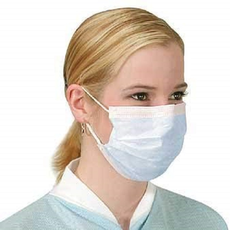 Masque facial jetable Earloop Masque de protection filtrant à 3 couches pour bloquer la pollution de l'air, le pollen, éviter les éclaboussures de salive