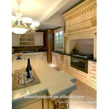 Mueble de cocina de madera maciza de roble clásico American Standard