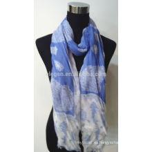Bufanda de algodón de impresión de moda de alta calidad