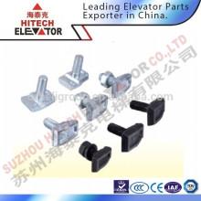 Guía del elevador Abrazaderas de carril, T1, T2, T3, T4