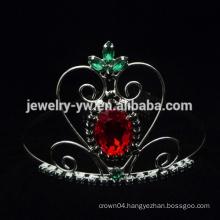 wholesale pink big rhinestone pageant crowns