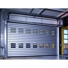 Aluminium schäumende schnelle gewundene Tür mit 40mm