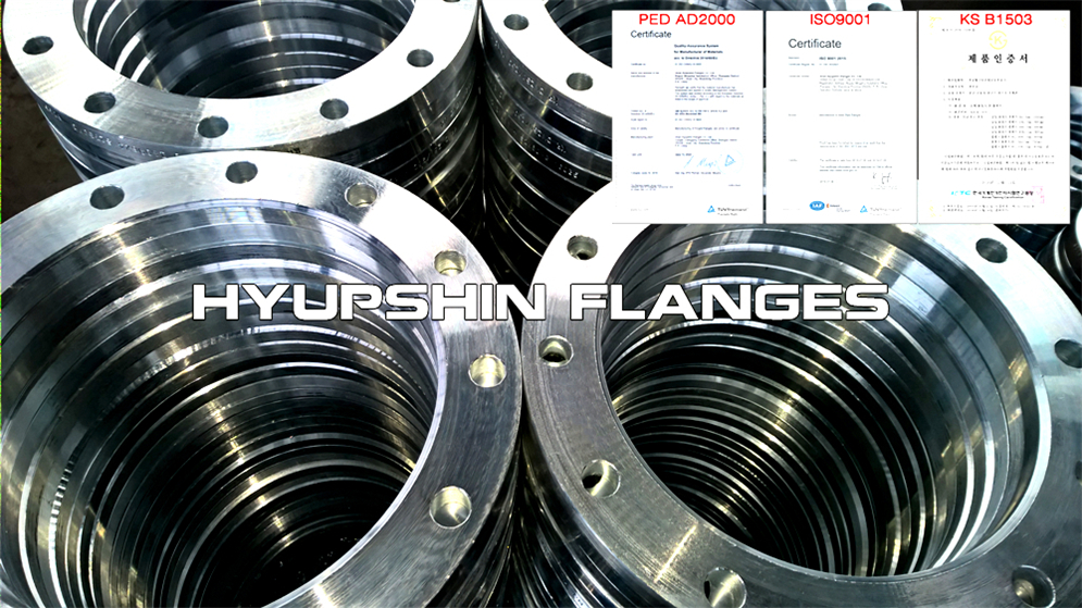 Hyupshin Flanges Lapped Loose Pn10 Pn16 Flanges