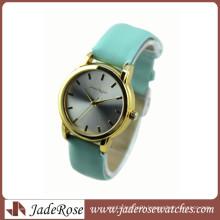 New Arrival Leather Strap Fashion Geneva Brand Quartz Watch