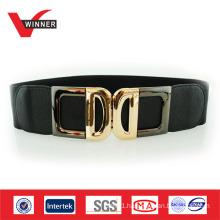 Fashion women elastic cinch belt
