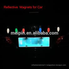 Autocollant de réflecteur de voiture, autocollant de mangue reflex