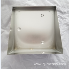 SUS 0.3mm Sheet Metal Fabrication with Electro-polishing