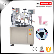 Cosmetic Soft Tube Filling And Sealing Cutting Machine