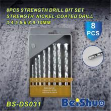 Bits de broca do HSS 8PCS ajustados