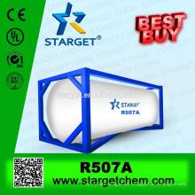 Melhor qualidade baixa ODP melhor comprar gás refrigerante misturado r507