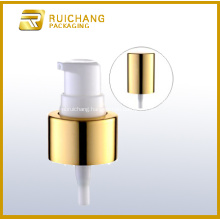 Aluminium Cosmetic Cream Pump