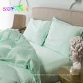 Супер роскошный шелковистой мягкой 60х 100% tencle постельные принадлежности сплошной цвет