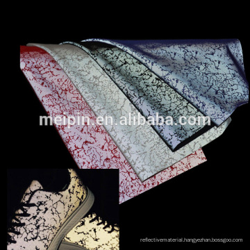 Sliver Reflective Mesh Fabric for sport shoes
