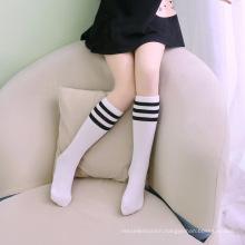 Custom Hot knee high girls boys children long tube women socks