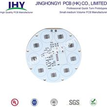 Placa de PCB de alumínio de 1 camada para luz LED