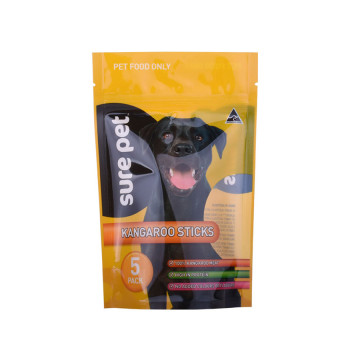 Aangepaste Petfood Ziplock Pet Food Trears verpakkingstas