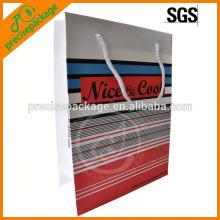 Bolso de playa de papel de moda para publicidad