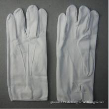 Weißer Baumwollarbeitshandschuh