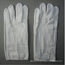 Luva de trabalho de algodão branco