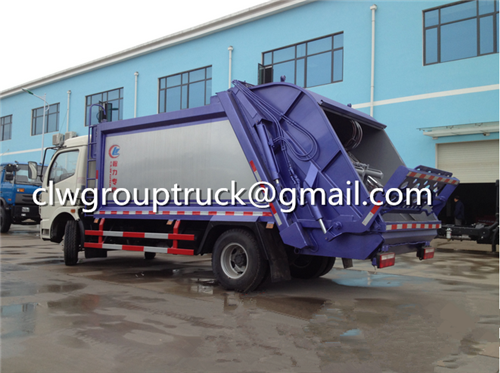 Garbage Compactor Truck_3