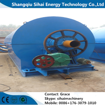 Waste Tire Recycling To Fuel Oil