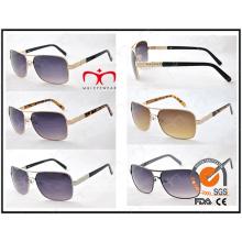 Meilleures ventes et lunettes de soleil en métal pour hommes classiques (M1294)