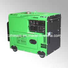 Generador portátil silencioso diesel de 3500watts tipo (DG4500SE)