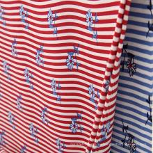 Вискозная ткань синель с рисунком 45s