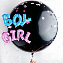 Bricolage sexe révéler confetti ballon 36 ballon