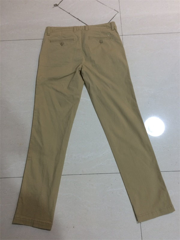 Washed Vintage Casual Pants For Man