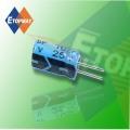 Topmay Mini tamanho Capacitor eletrolítico de alumínio