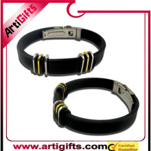 Promotional products stainless steel ball bracelet