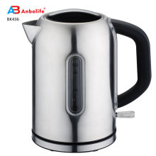 Wholesale Household Kitchen Appliances Hot Water Boiler for Hotel Stainless Steel Body 1.7L 1850-2000W Electric Kettle