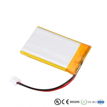 385868 batterie rechargeable 3.7v lipo pour dispositif médical